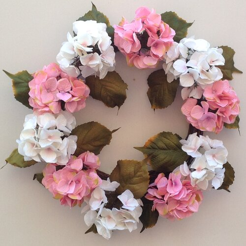 Glorious Hydrangea Wreath