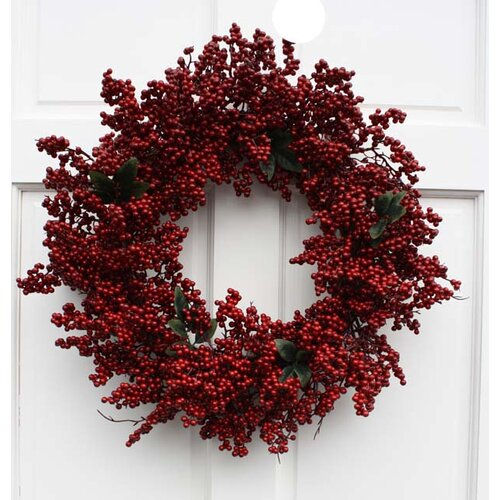 Mills Floral Soft Touch Wreath