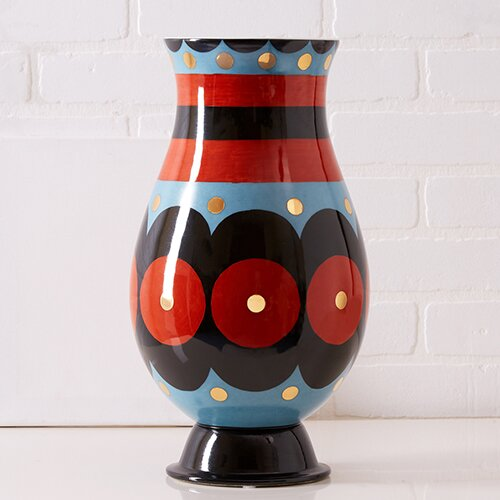 Bohemian Curved Decorative Vase