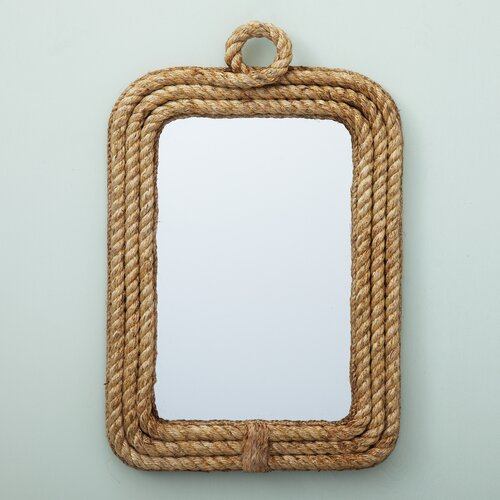 Two's Company Rope Wall Mirror