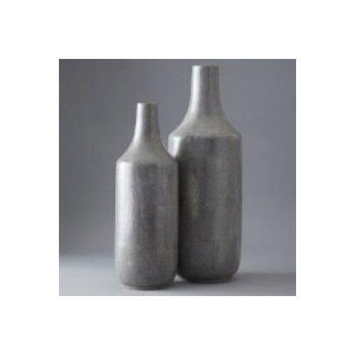 2 Piece Shagreen Vase Set