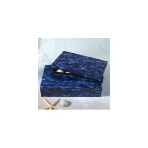 Tozai La Mer Lapis Tiled Boxes
