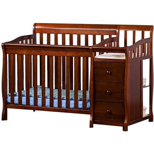 Dream On Me Jayden Portable Convertible Crib & Changer
