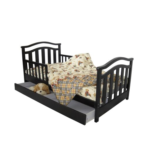 Dream On Me Elora Toddler Bed with Storage Drawer