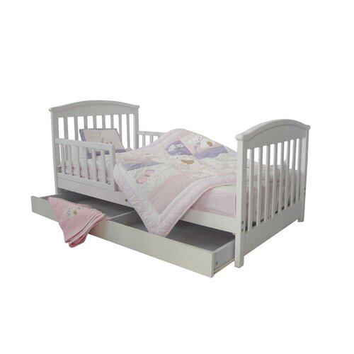 Mission Toddler Bed with Storage Drawer