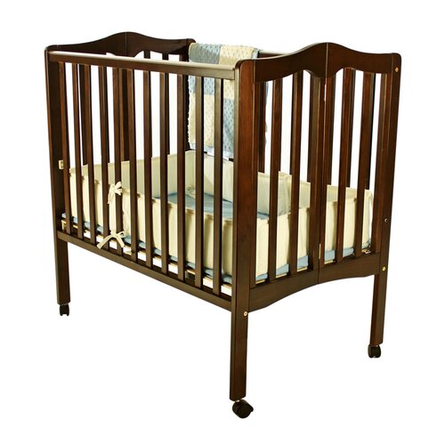 Dream On Me Portable Lightweight Folding Convertible Crib