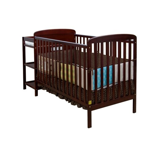 Dream On Me Crib N Changer Convertible Crib and Changing Table Combo