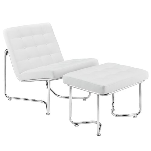 Gibraltar Lounge Chair and Ottoman