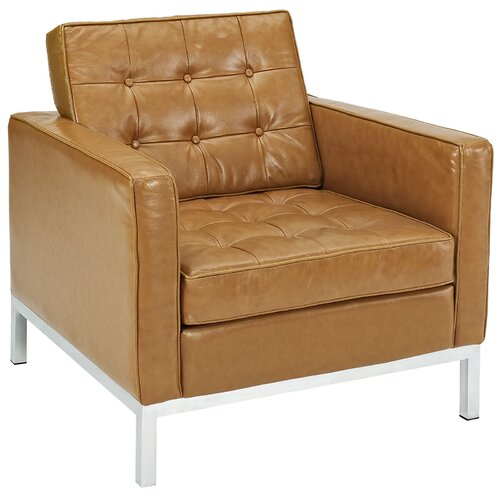 Loft 3 Piece Leather Sofa Set Wayfair