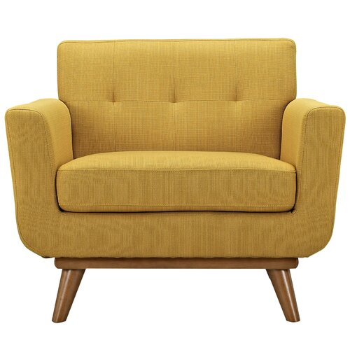 Employ Upholstered Arm Chair | Wayfair