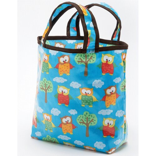 Hoot Owls Sunday Tote Diaper Bag