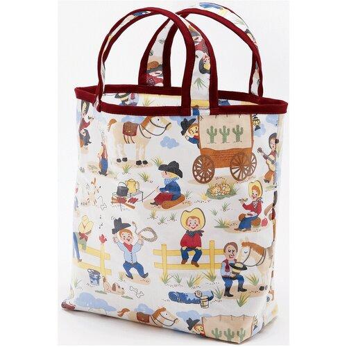 Li'l Cowboy Sunday Tote Diaper Bag