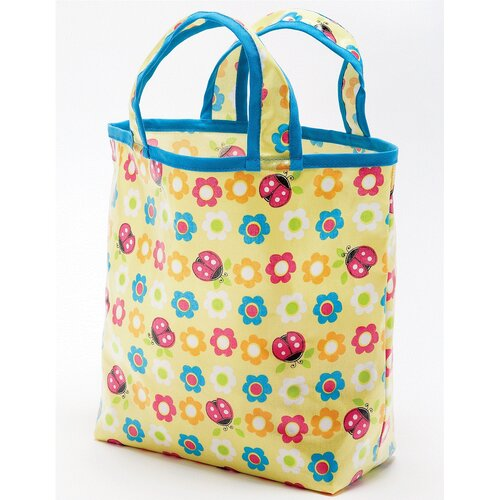Ladybugs and Flowers Sunday Tote Diaper Bag