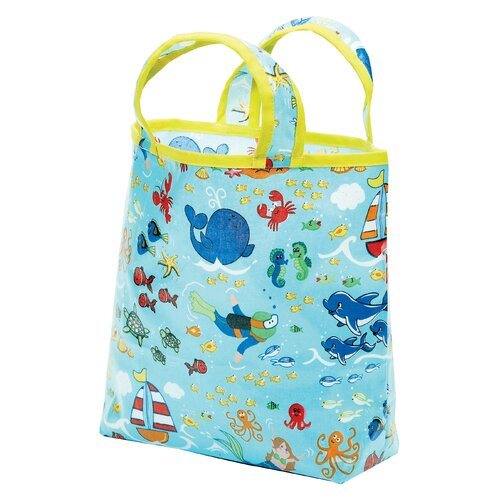 Sea Life Sunday Tote Diaper Bag