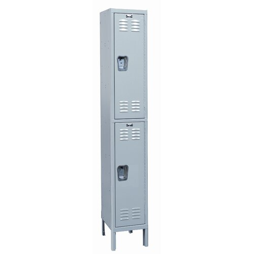 Hallowell MedSafe 2 Tier 1 Wide School Locker