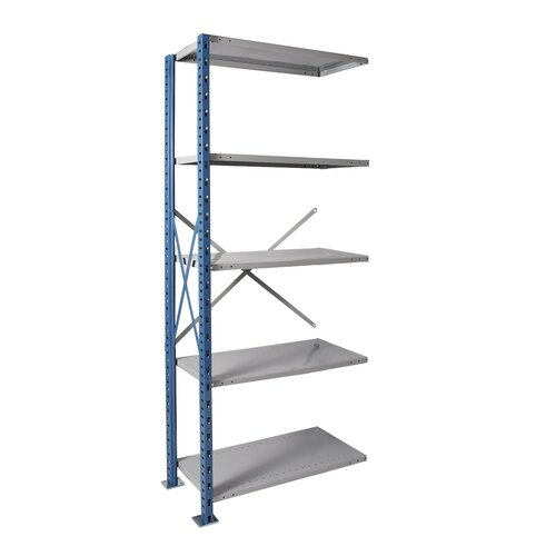 Hallowell H-Post High Capacity Open Style 4 Shelf Shelving Unit Add-on