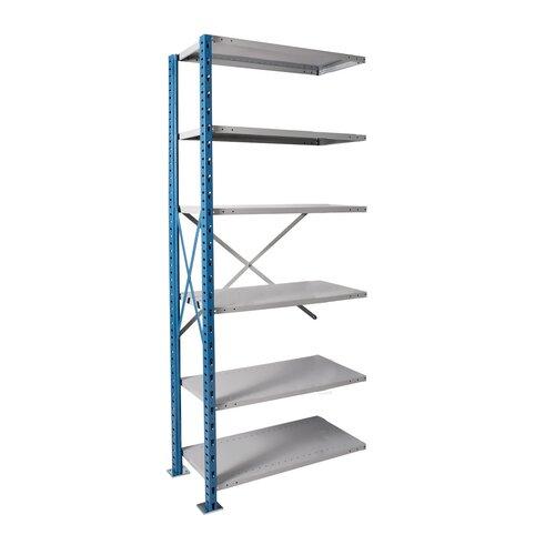 Hallowell H-Post High Capacity Open Style 7 Shelf Shelving Unit Add-on