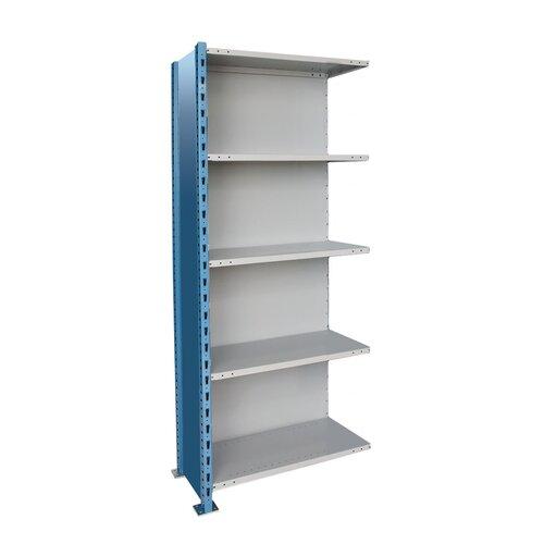 Hallowell H-Post High Capacity Closed Style 5 Shelf Shelving Unit Add-on
