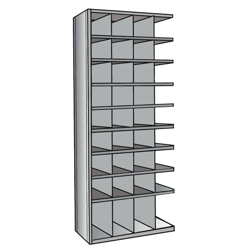 "Hallowell Hi-Tech 87"" H 9 Shelf Shelving Unit Add-on"
