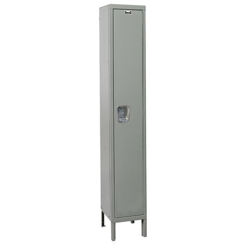 Hallowell Maintenance-Free 1 Tier 1 Wide Quiet Locker
