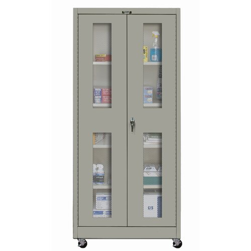 "Hallowell 400 Series 48"" Mobile Ventilated Storage Cabinet"