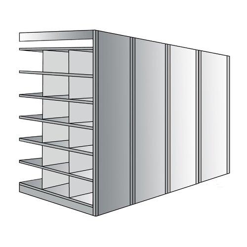 "Hallowell Deep Bin 87"" H 7 Shelf Shelving Unit Add-on"
