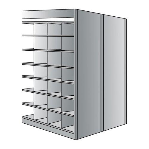 "Hallowell 87"" H 8 Shelf Shelving Unit Add-on"