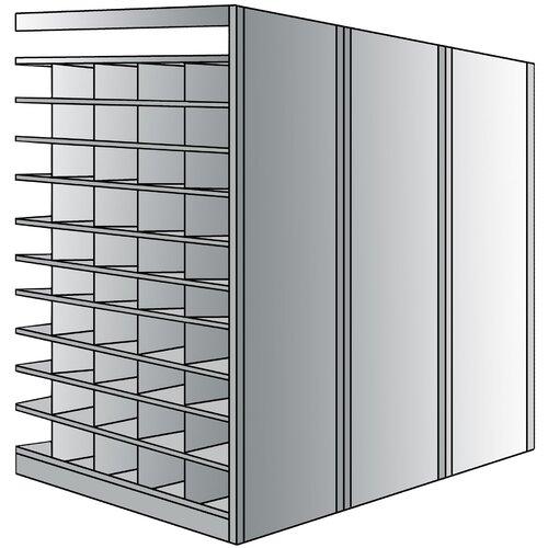 "Hallowell Deep Bin 87"" H 11 Shelf Shelving Unit Add-on"
