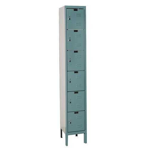 Hallowell Premium 6 Tier 1 Wide Contemporary Locker