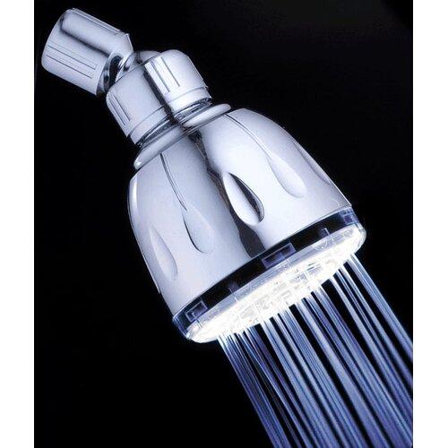 MagicShowerhead Fading Color Fixed LED Illuminated Shower Head
