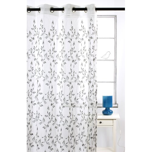 LJ Home Costello Grommet Curtain Panel Pair