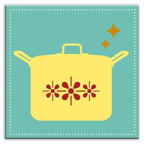 Kitschy Kitchen 4-1/4