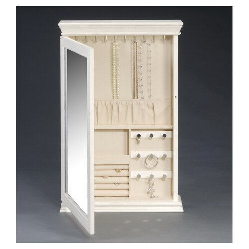 HomePointe Wall Mount Jewelry Box