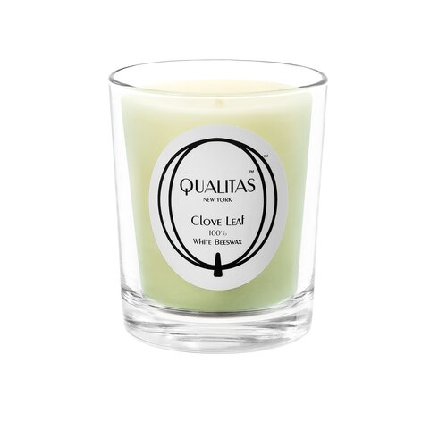 Qualitas Candles Beeswax Clove Leaf Scented Candle