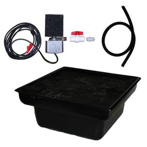 "Hargrove Outdoor Products Space Saver 24"" Rigid Liner Basin Kit with 3.3 GPM Pump"