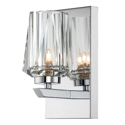 Alternating Current Ginsu 1 Light Bath Wall Sconce