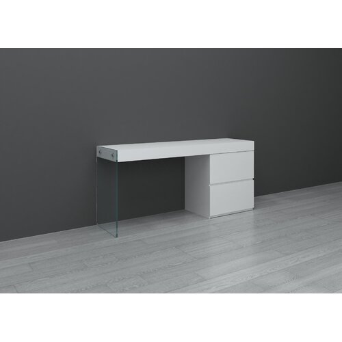 Casabianca Furniture II Vetro Computer Desk