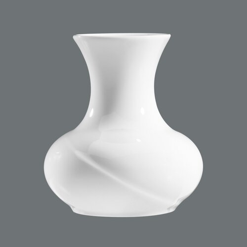 arabian nights pyramid vase in white and black wayfair uk. Black Bedroom Furniture Sets. Home Design Ideas
