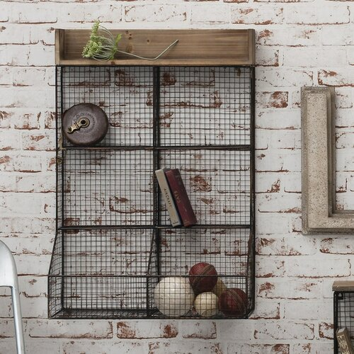 Gallery Langton Wire Double Storage Rack