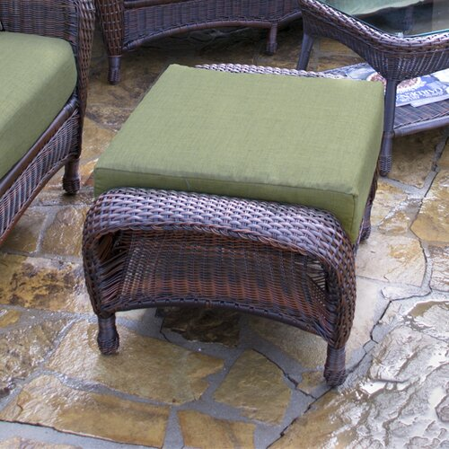 Tortuga Outdoor Lexington Chair and Ottoman