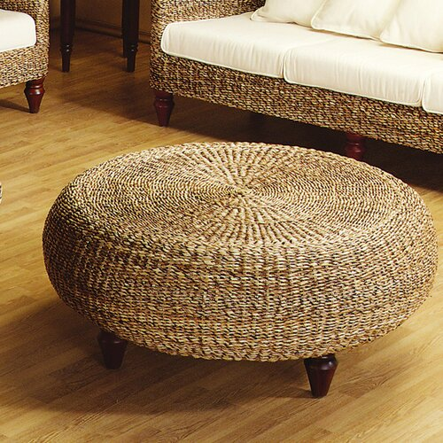 Padmas Plantation Tropical Cocktail Ottoman