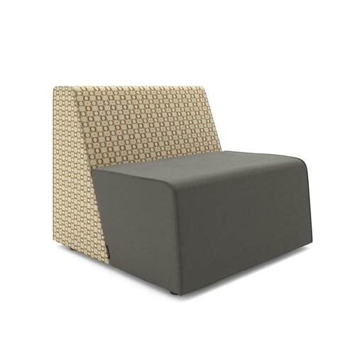 Steelcase Turnstone Campfire Patterned Half Lounge
