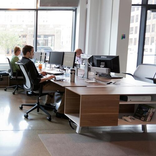 Steelcase Bivi Workstation