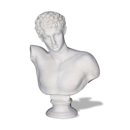 Amedeo Design ResinStone Hermes Bust Statue