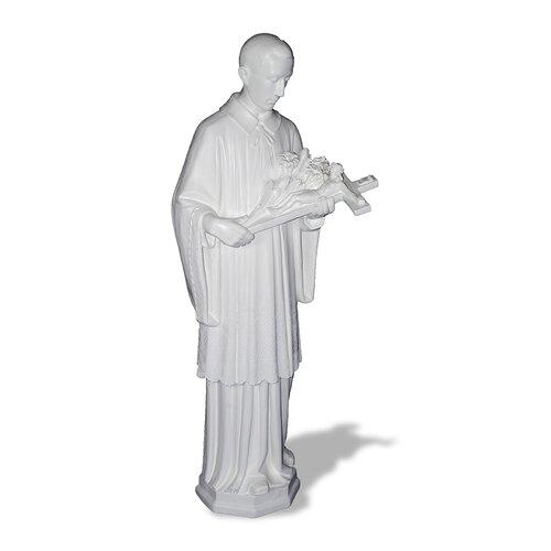 Amedeo Design ResinStone Saint Aloysius Statue