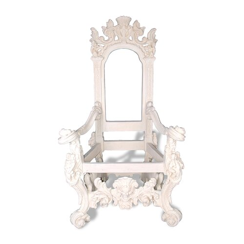 Amedeo Design ResinStone Throne Chair