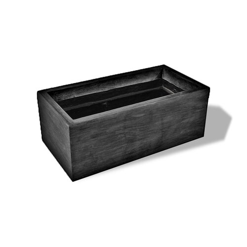 ResinStone Rectangular Planter