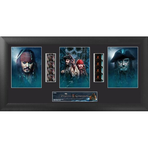 Trend Setters Pirates of the Caribbean On Stranger Tides Trio FilmCell Presentation Framed Memorabilia