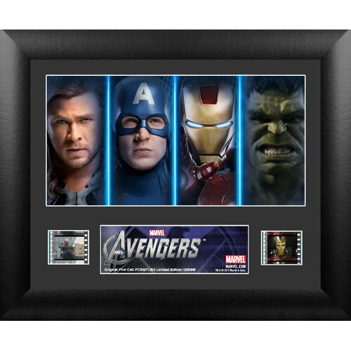 Avengers Single FilmCell Presentation Framed Memorabilia