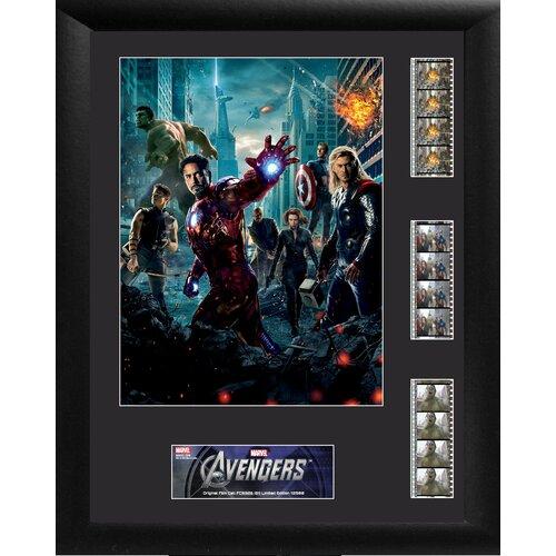 Trend Setters Avengers Triple FilmCell Presentation Framed Memorabilia